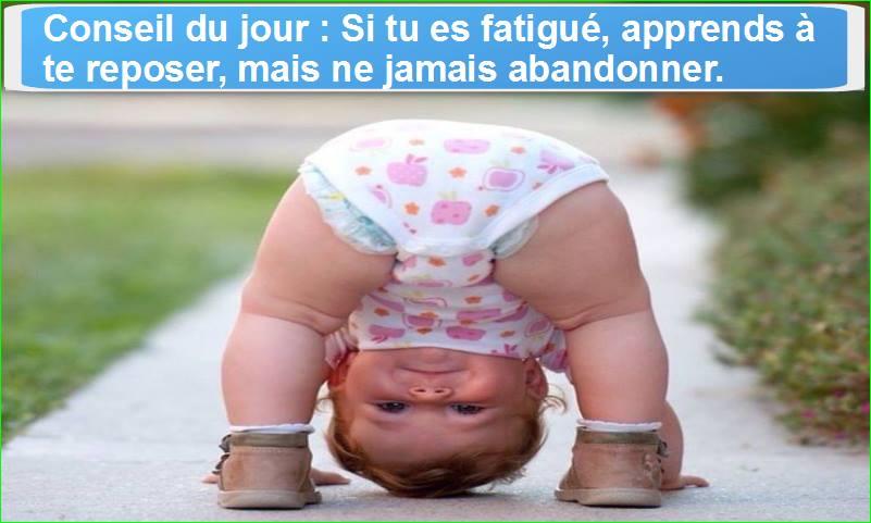 citation aurélien malecki. si tu es fatigué, apprends à te reposer, mais ne jamais abandonner.
