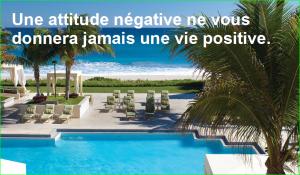 Une attitude négative ne vous donnera jamais une vie positive. citation aurélien malecki