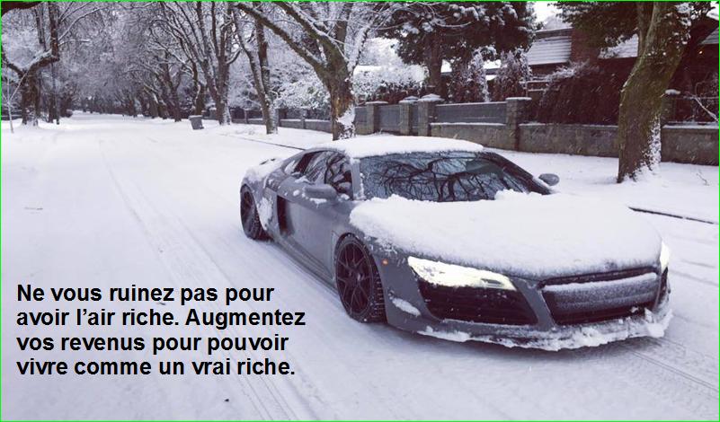 citation aurélien malecki. Ne vous ruinez pas pour avoir l'air riche. Augmentez vos revenus pour pouvoir vivre comme un vrai riche.