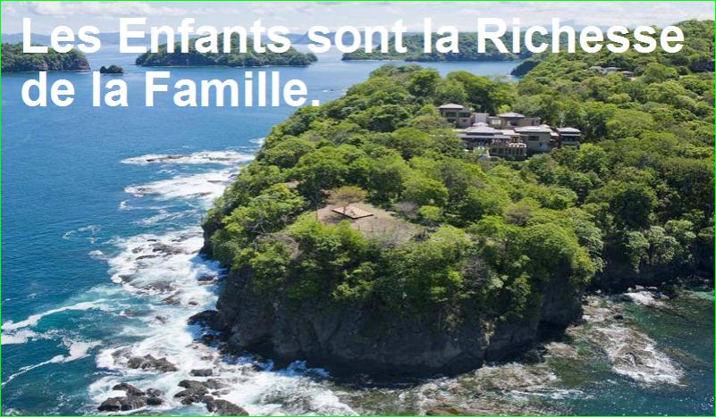 Les Enfants sont la Richesse de la Famille. citation célèbre aurélien malecki