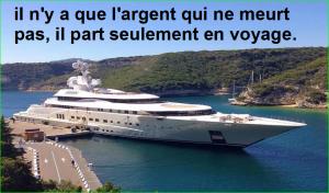 il n'y a que l'argent qui ne meurt pas, il part seulement en voyage. Citations Populaires et Célèbres Proverbes Aurélien Malecki