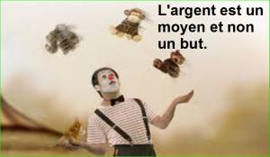 L'argent est un moyen et non un but. Citations Populaires et Célèbres Proverbes Aurélien Malecki