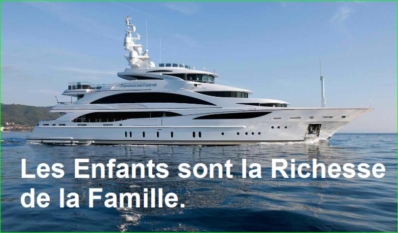 Les Enfants sont la Richesse de la Famille. Citation Populaire et Célèbre de aurélien malecki