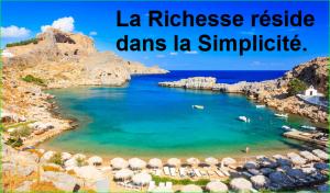 La Richesse réside dans la Simplicité. Citation Populaire et Célèbre de aurélien malecki