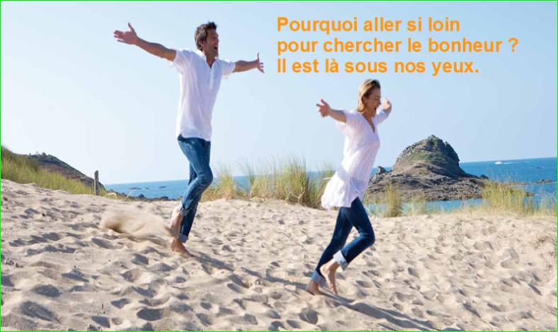 Présentation Déchets Plastiques écologique Recyclix France. Pourquoi aller si loin pour chercher le bonheur ? Il est là sous nos yeux. belle et très jolie Citation populaire et Célèbre image photo de aurélien malecki