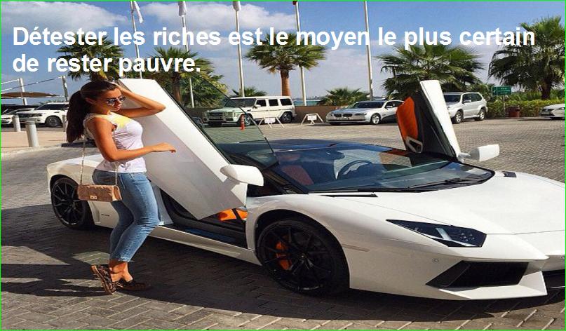 détester les riches est le moyen le plus certain de rester pauvre. citation aurélien malecki