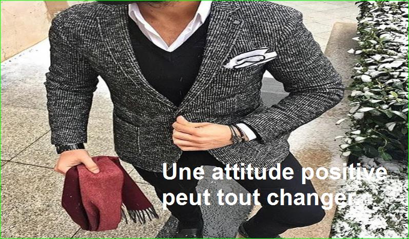 citation aurélien malecki, Une attitude positive peut tout changer.