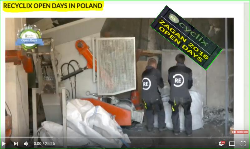 photos Recyclix visites guidées à la gestion des déchets News des usines