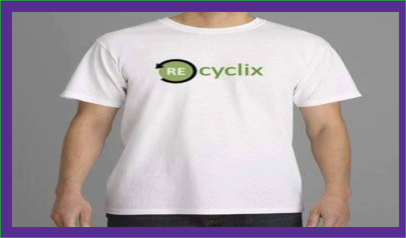tee shirt Différences hommes-femmes magasin Recyclix recyclage du tri