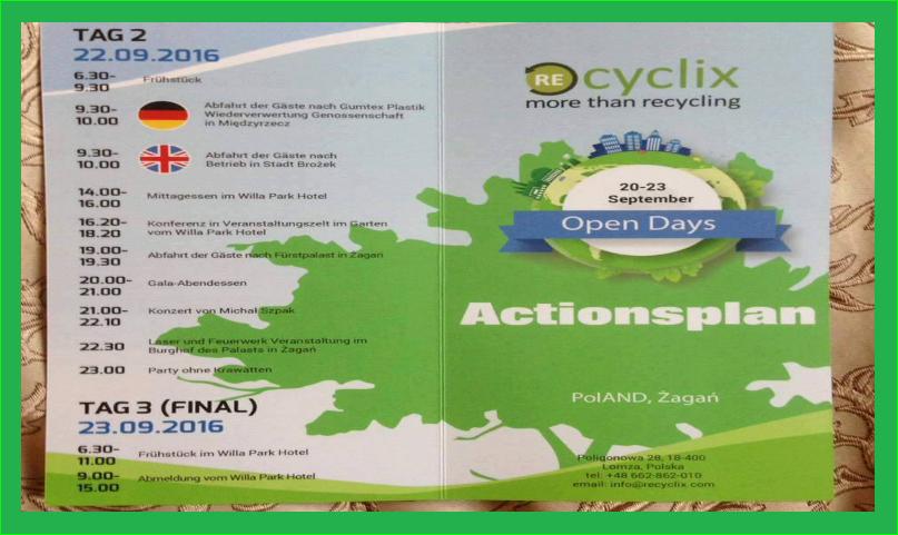 Le Saviez Vous Recyclix Présentation Recyclage Plastique France #5 à Zagan.Recyclix 226 participants #5 journées portes ouvertes 2em officiel