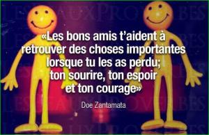 image photo les bons amis t'aident à retrouver des choses importantes lorsque tu les as perdu, ton sourire, ton espoir et ton courage. citation