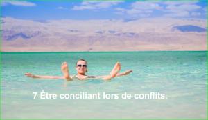 photo image 7 Être conciliant lors de conflits.