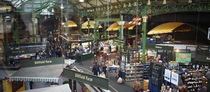 image photo Les agréables marchés populaires Londoniens