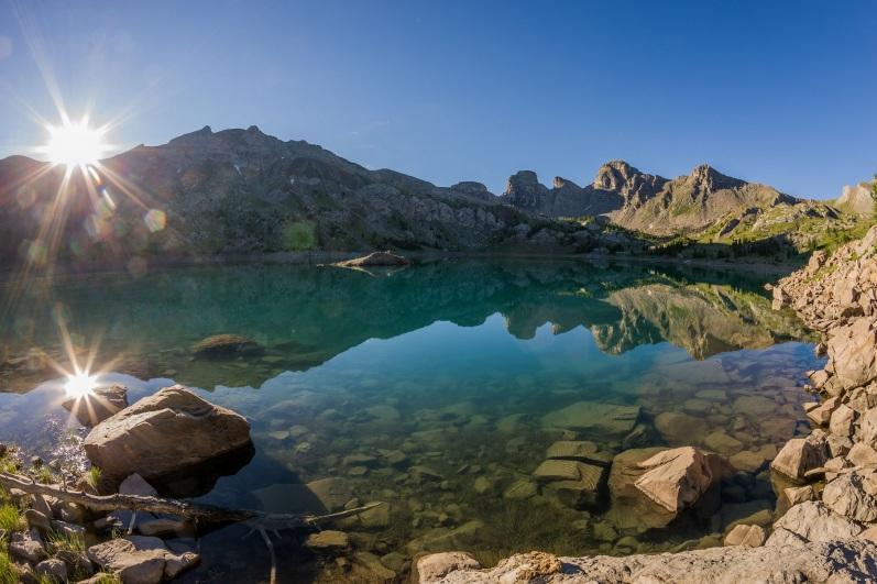 image photo Top 6 lac d'Allos dans les Alpes-de-Haute-Provence