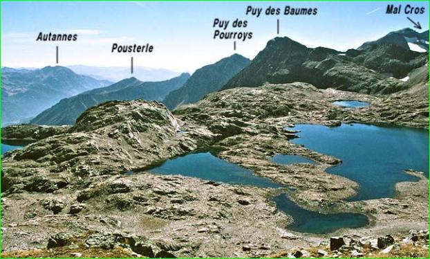 image photo Top 9 Les lacs de Crupillouse dans la vallée de Champoléon