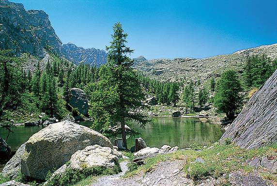 image photo Top 13 Le lac Vert de Fontanalbe (Alpes-Maritimes)