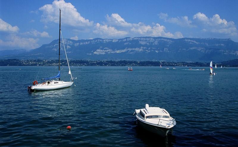 image photo Top 15 Le lac du Bourget département de la Savoie