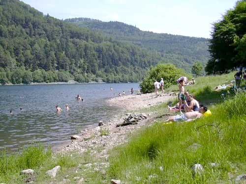 image photo Top 16 lac du Kruth Wildenstein artificiel alsacien