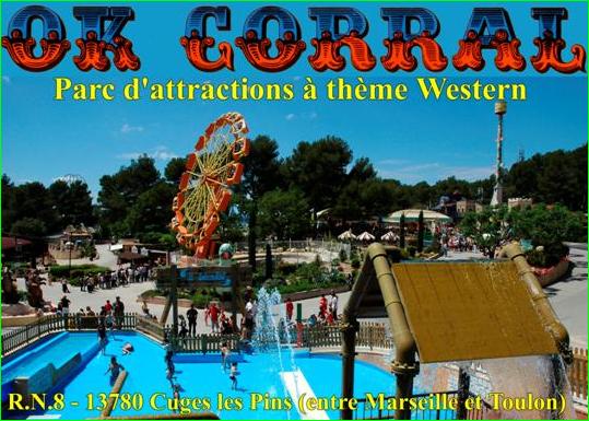 OK CorralParcà deux pas deMarseille image photo Top Meilleurs Parcs d'Attractions de France et d'Europe aurélien malecki