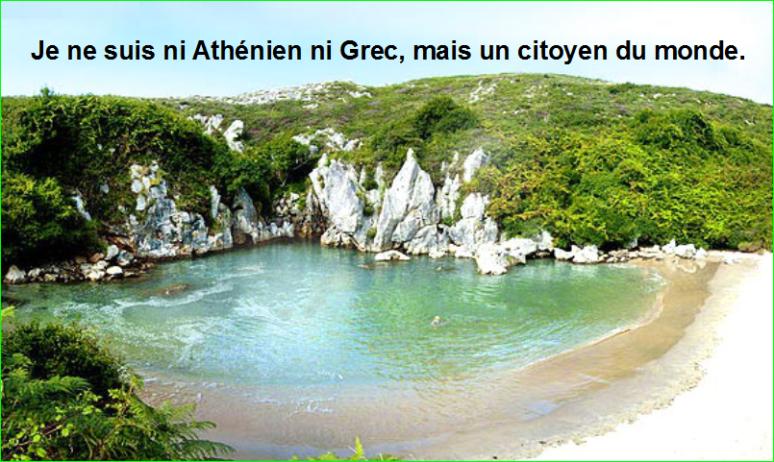 Je ne suis ni Athénien ni Grec, mais un citoyen du monde.Citation Socrate top image photographie aurélien malecki